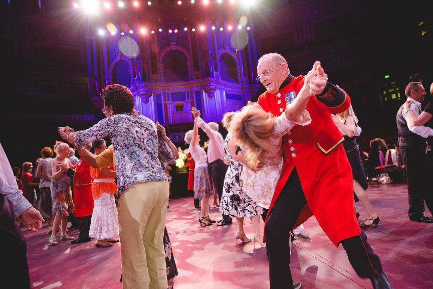 Tea Dance at the Royal Albert Hall