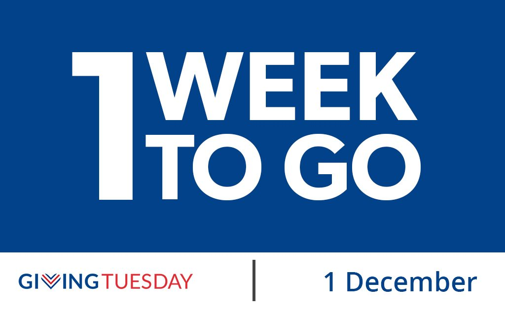 1 week to go graphic