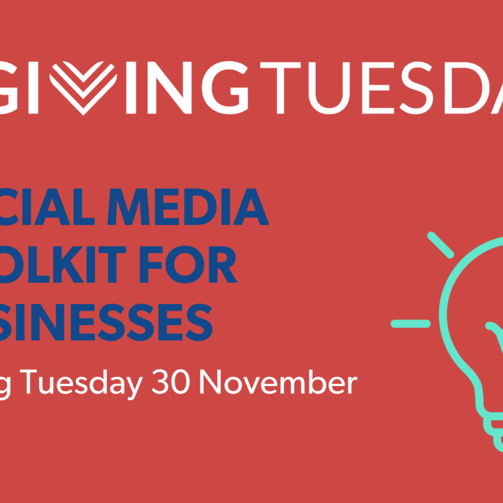 Hyperlink to Social Media Toolkit for Businesses for Giving Tuesday 2021